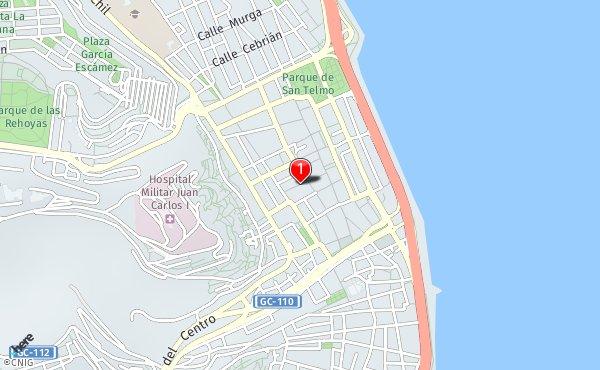 Mapa De Las Palmas De Gran Canaria Calles.Calle Travieso 23 Callejero De Las Palmas De Gran Canaria