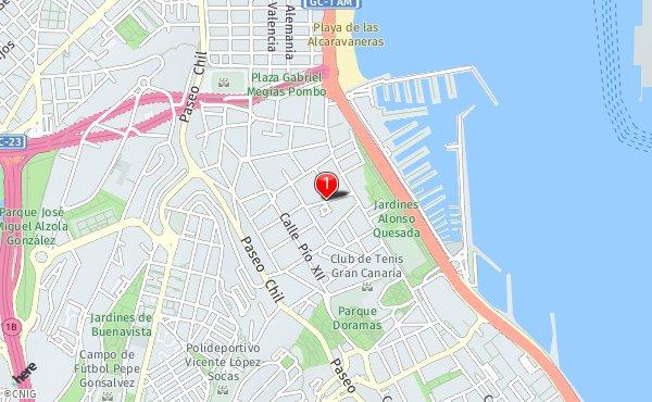 Mapa De Las Palmas De Gran Canaria Calles.Callejero De Las Palmas De Gran Canaria Planos Y Mapas De