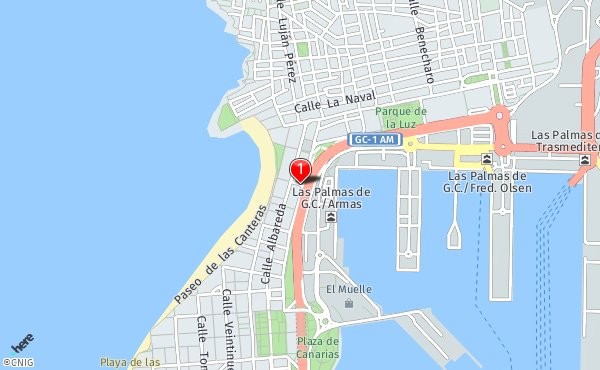 Mapa De Las Palmas De Gran Canaria Calles.Calle Gran Canaria Callejero De Las Palmas De Gran Canaria