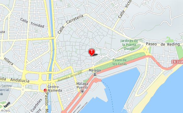 Mapa De Malaga Capital Por Barrios.Callejero De Malaga Planos Y Mapas De La Ciudad De Malaga