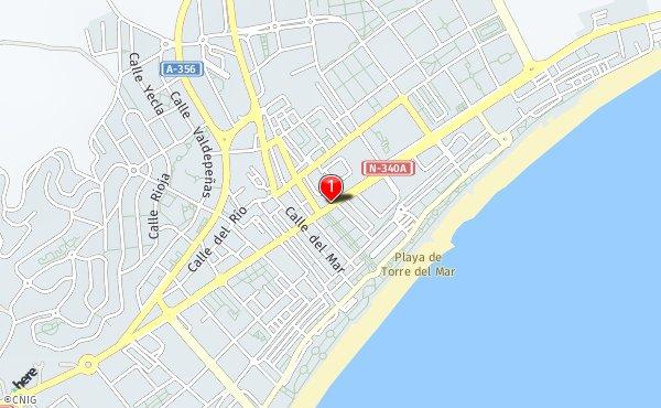 Mapa Torre Del Mar.Callejero De Torre Del Mar Planos Y Mapas De La Ciudad De
