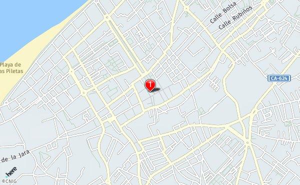 Sanlucar De Barrameda Mapa.Calles De Sanlucar De Barrameda Callejero Net