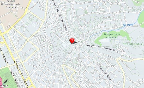 Callejero Mapa De Granada Capital.Callejero De Granada Planos Y Mapas De La Ciudad De