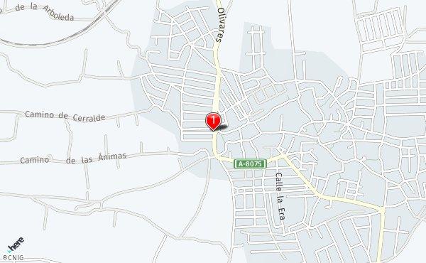 Villanueva Del Ariscal Mapa.Calle De La Zorzala Callejero De Villanueva Del Ariscal Callejero Net