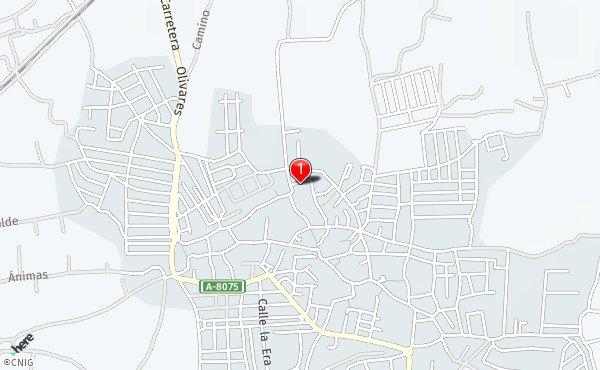 Villanueva Del Ariscal Mapa.Calle Pepe Aguiar Callejero De Villanueva Del Ariscal Callejero Net