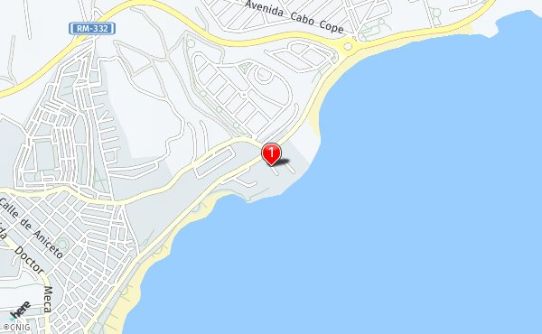 Cabo De Machichaco Mapa.Calle De Cabo Machichaco Callejero De Mazarron Callejero Net