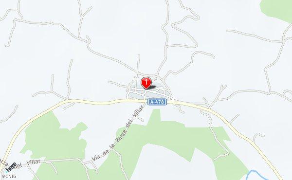Zalamea La Real Mapa.Rutas Desde Zalamea La Real Callejero Net