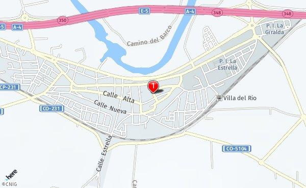 Calle de García Lorca - Callejero de Villa del Río