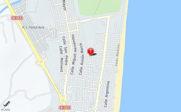 Mapa Guardamar Del Segura.Callejero De Guardamar Del Segura Planos Y Mapas De La