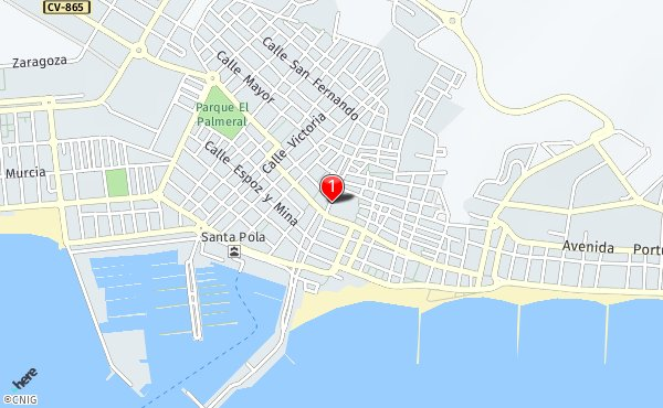 Mapa De Santa Pola.Callejero De Santa Pola Planos Y Mapas De La Ciudad De