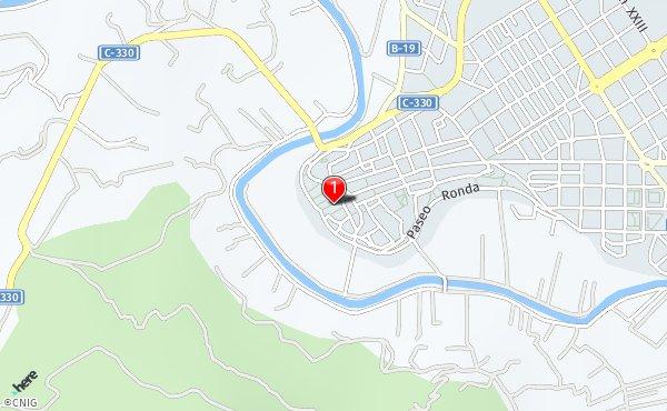 Navas De Tolosa Mapa.Calle De Las Navas De Tolosa Callejero De Cieza