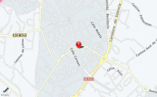 San Juan Alicante Mapa.Callejero De San Juan De Alicante Planos Y Mapas De La