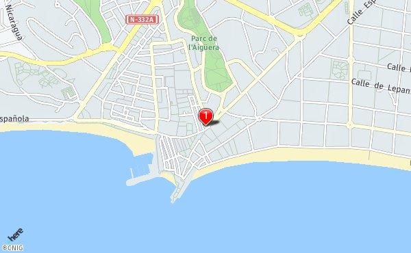 Rincon De Loix Mapa.Sierra Helada Rincon De Loix Callejero De Benidorm