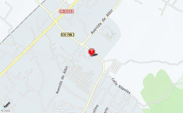 Rincon De Loix Mapa.Carretera De Rincon De Loix Callejero De Benidorm