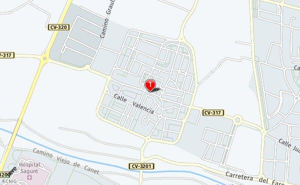 Mapa Canet De Berenguer.Callejero De Canet D En Berenguer Planos Y Mapas De La