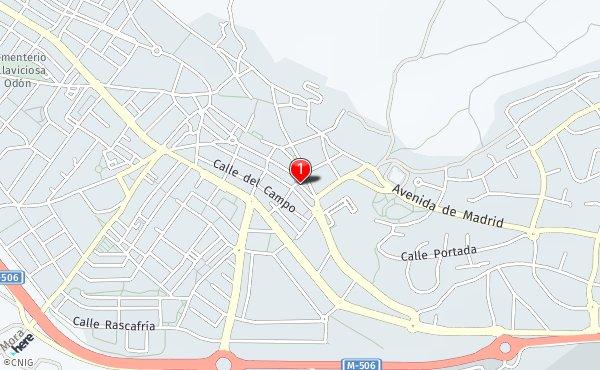 Mapa Villaviciosa De Odon.Callejero De Villaviciosa De Odon Planos Y Mapas De La