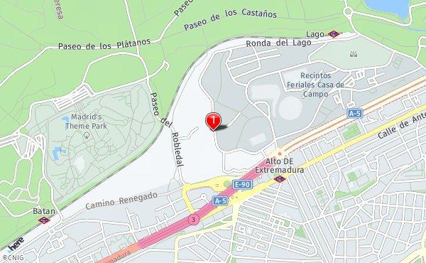 Ronda Provincias 7 Callejero De Madrid Callejero Net