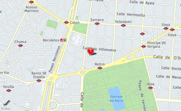Calle Del Conde De Aranda 5 Callejero De Madrid Callejero Net
