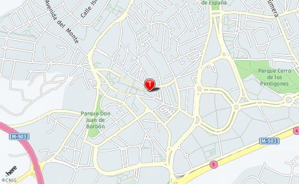 Pozuelo De Alarcon Mapa.Callejero De Pozuelo De Alarcon Planos Y Mapas De La