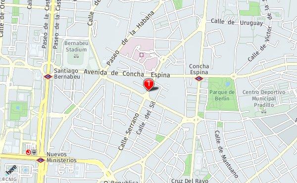 Calle Serrano Madrid Mapa.Calle De Serrano 200 Callejero De Madrid Callejero Net