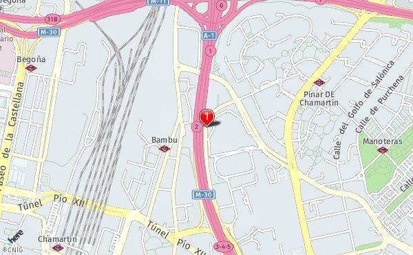 Condado De Treviño Mapa.Calle Del Condado De Trevino 2 Callejero De Madrid