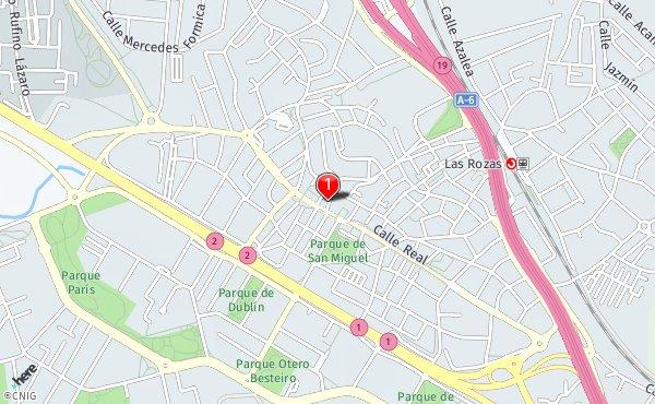 Las Rozas Madrid Mapa.Callejero De Las Rozas De Madrid Planos Y Mapas De La