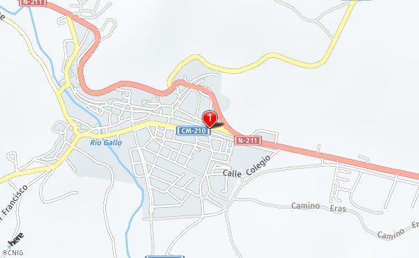 Molina De Aragon Mapa.Callejero De Molina De Aragon Planos Y Mapas De La Ciudad