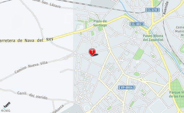 Medina Del Campo Mapa.Callejero De Medina Del Campo Planos Y Mapas De La Ciudad