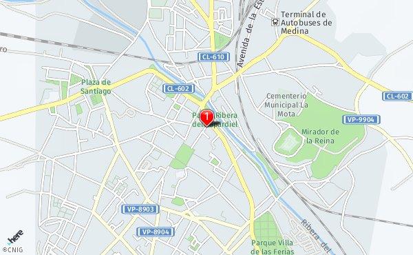 Medina Del Campo Mapa.Calle De Maldonado Callejero De Medina Del Campo