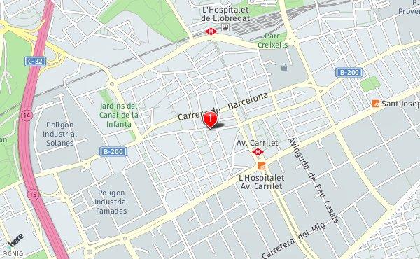 Mapa De L Hospitalet.Callejero De L Hospitalet De Llobregat Planos Y Mapas De