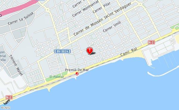 Premia De Mar Mapa.Callejero De Premia De Mar Planos Y Mapas De La Ciudad De
