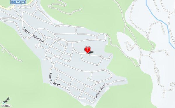 Castellar Del Valles Mapa.Calle De Nuestra Senora De La Salud Callejero De Castellar