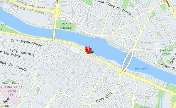 Mapa De Zaragoza Ciudad.Callejero De Zaragoza Planos Y Mapas De La Ciudad De