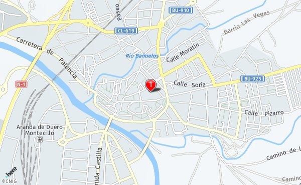 Aranda Del Duero Mapa.Callejero De Aranda De Duero Planos Y Mapas De La Ciudad