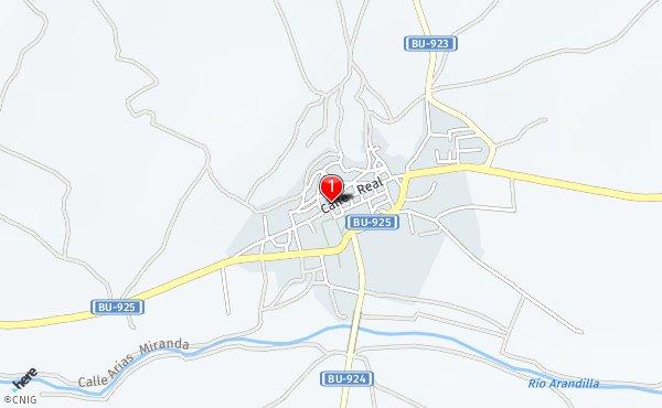 Peñaranda De Duero Mapa.Callejero De Penaranda De Duero Planos Y Mapas De La