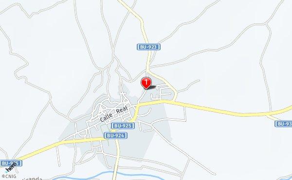 Peñaranda De Duero Mapa.Calle De Santa Coloma Callejero De Penaranda De Duero
