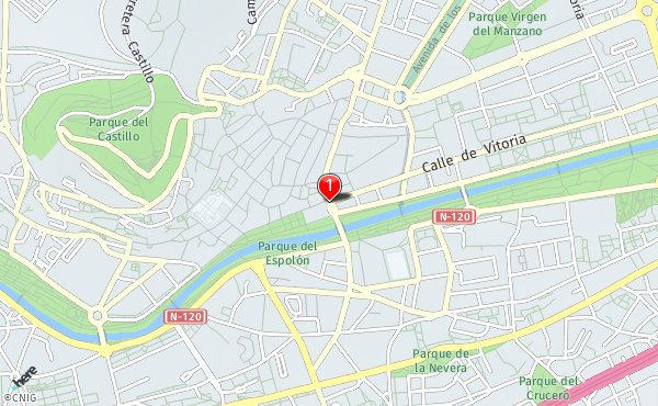 Mapa De Burgos Ciudad.Callejero De Burgos Planos Y Mapas De La Ciudad De Burgos