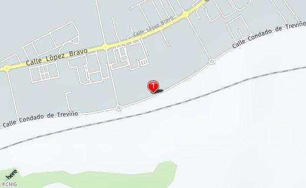 Condado De Treviño Mapa.Calle Condado De Trevino Callejero De Burgos Callejero Net