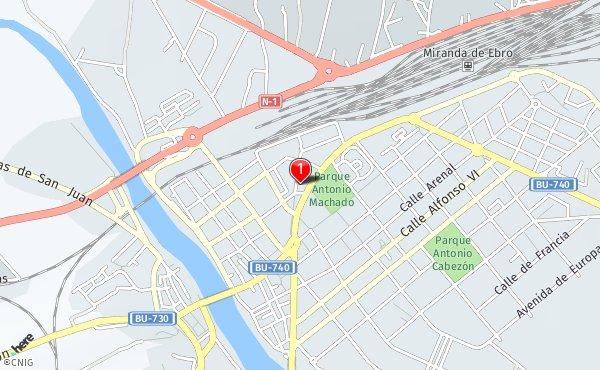 Mapa Miranda De Ebro.Callejero De Miranda De Ebro Planos Y Mapas De La Ciudad