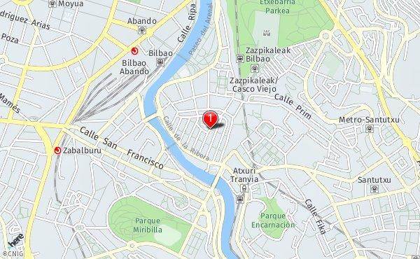 Mapa Bilbao Y Alrededores.Callejero De Bilbao Planos Y Mapas De La Ciudad De Bilbao
