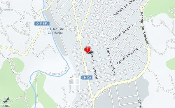 Castellar Del Valles Mapa.Carrer De Portugal 2 Callejero De Castellar Del Valles