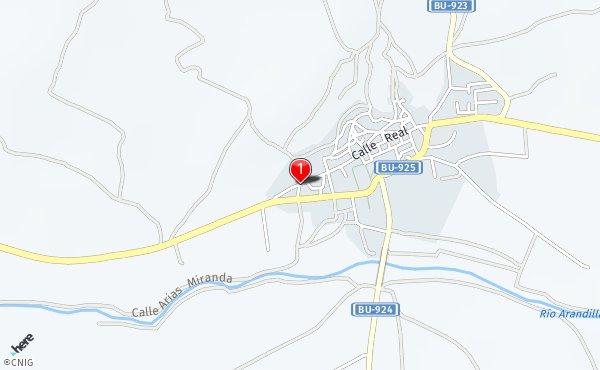 Peñaranda De Duero Mapa.Travesia Cuevas Callejero De Penaranda De Duero