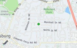 Map of 304 Higham, Leesburg, VA 20176, USA