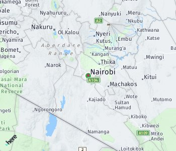 Area of taxi rate Nairobi