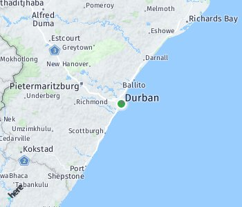 Area of taxi rate Durban