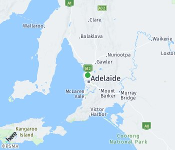 Area of taxi rate Adelaide