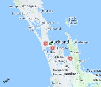 Area of taxi rate Auckland