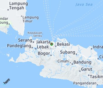 Area of taxi rate Jakarta