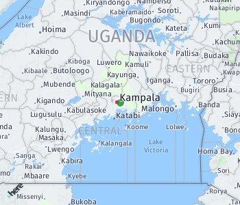 Area of taxi rate Kampala