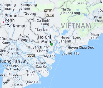 <?php echo Area of taxi rate Ho Chi Minh City; ?>